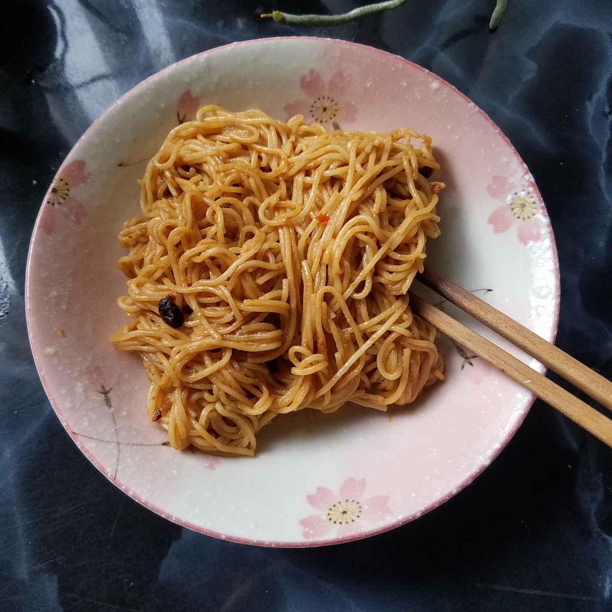 Sichuan cold sesame noodles with numb peppercorns