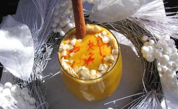 turmeric mango ginger smoothie