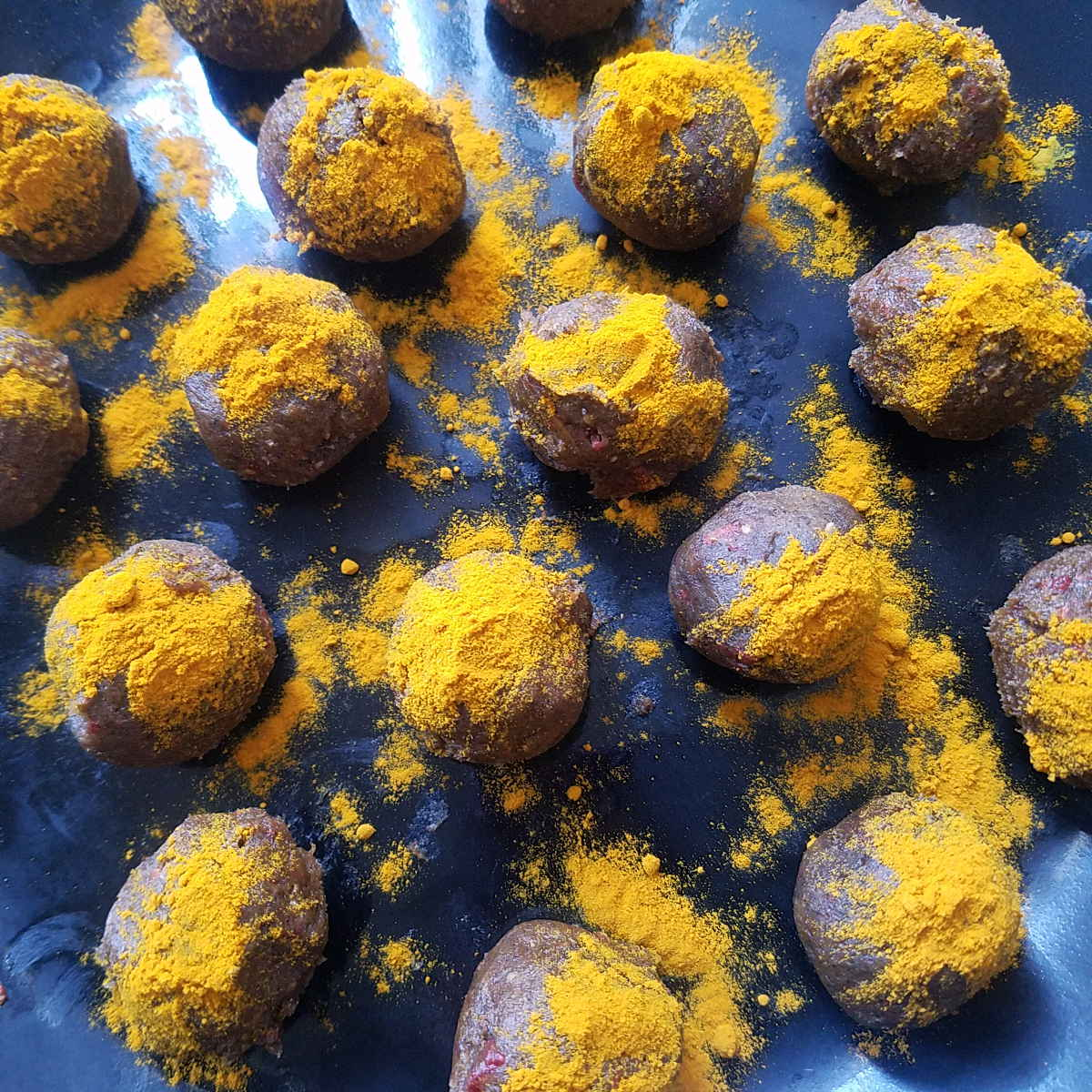 turmeric raw vegan energy balls